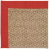 Zeppelin Machine Tufted Red Crimson Indoor/Outdoor Area Rug Longshore Tides Rug Size: Rectangle 9' x 12'