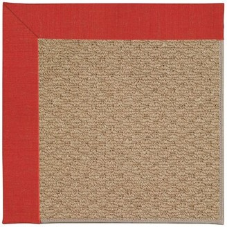 Longshore Tides Zeppelin Tufted Red Crimson Indoor/Outdoor Rug Rug Size: Rectangle 9' x 12'