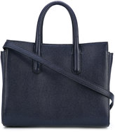 Max Mara top handles tote - women - Calf Leather/cotton - One Size