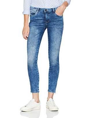 Noisy May Women's Nmkimmy Nw Ankle Zip Jeans Az005mb Noos Skinny Medium Blue Denim, W29/L32 (Size: 29)