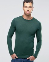 Asos Muscle Fit Crew Neck Sweater