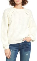 J.o.a. Chunky Knit Raglan Sweater