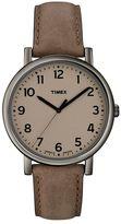 Timex Unisex Originals Leather Watch