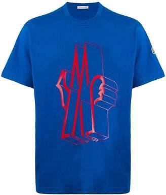 Moncler graphic M logo T-shirt