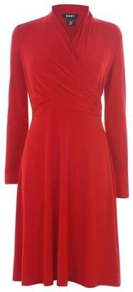 DKNY Occasion Wrap Dress