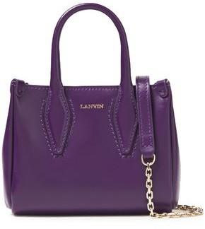 Lanvin Micro Journee Leather Tote