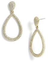 Nadri Women's Open Teardrop Earrings