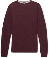 HUGO BOSS Nelino Mélange Cotton Sweater