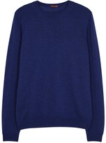 Barena Royal Blue Merino Wool Jumper