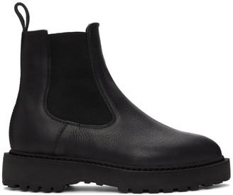 Diemme Black Alberone Chelsea Boots