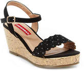 UNIONBAY Girls Charity Toddler & Youth Wedge Sandal