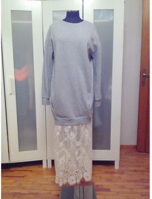 Benetton Grey Cotton Dresses