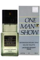 Jacques Bogart One Man Show for Men, Eau De Toilette Spray 3.4-Ounce