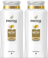 Pantene Daily Moisture Renewal Hydrating Shampoo, 25.4 Fluid Ounces (Pack of 2)