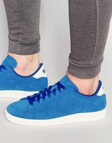 Nike Tennis Classic Cs Suede Trainers In Blue 829351-400