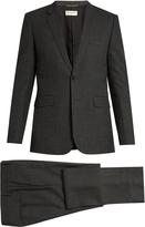 Saint Laurent Notch-lapel single-breasted wool suit