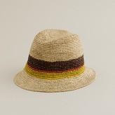 J.Crew Colorblock crusher hat
