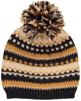 Caramel Baby & Child Chime Jacquard Alpaca Wool Hat