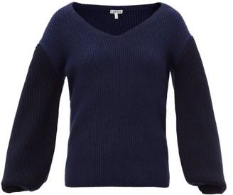 Loewe Balloon-sleeve Sweater - Blue