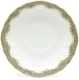 Herend GRAY FISHSCALE CANTON SAUCER