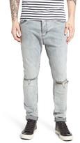 Zanerobe Men's Joe Blow Destroyed Denim Jeans