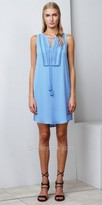 Greylin Jensen Woven Bib Shift Day Dress