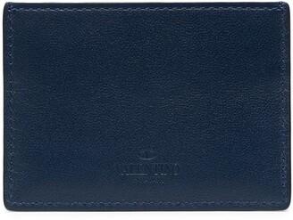 Valentino Rockstud-embellished cardholder