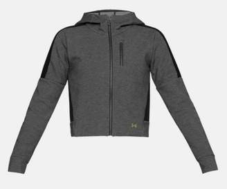 Under Armour Perpetual Spacer Jacket - L - Grey/Black