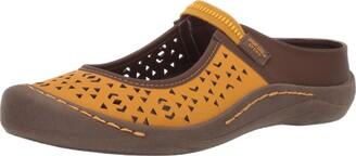 Muk Luks Women's Women's Justine Sport Shoe-Yellow Sandal