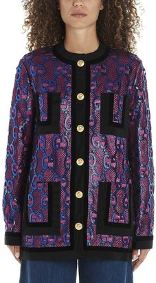Gucci GG Buttoned Jacket