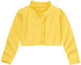 Gymboree Ruffle Crop Sweater Cardigan