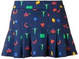 Isolda - print pleated skirt - women - Spandex/Elastane/Polyimide - 36