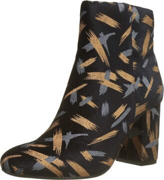 The Divine Factory Women QL3406 Boots Black Size: 3.5 UK