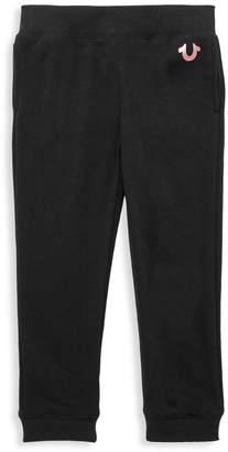 True Religion Little Girl's Cotton-Blend Jogger Pants