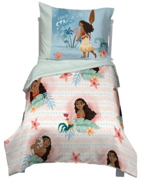 Disney Moana 4-Piece Toddler Bedding Set Bedding