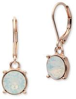 Anne Klein Swarovski Crystal Lever-Back Earrings