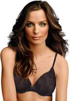 White lace bra black trim shopstyle for Maidenform t shirt bra sale