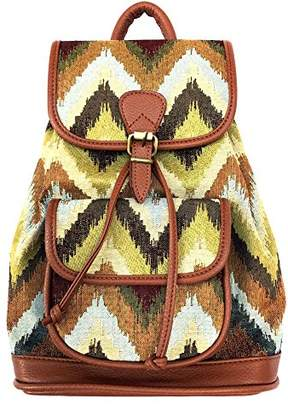 Red Pomegranate Fashion Jungle Backpack