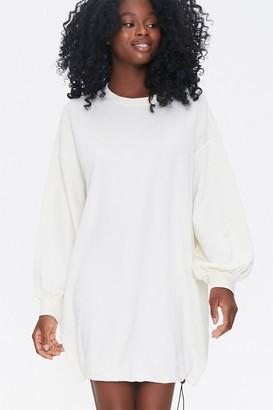 Forever 21 Toggle-Hem Sweatshirt Dress