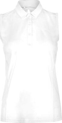 Slazenger Sleeveless Polo Shirt Ladies
