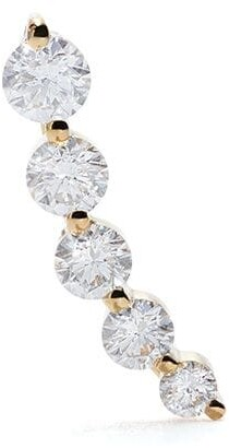 Anita Ko Large Floating Diamond Earring Single LEFT