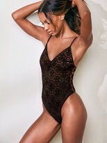 Very Sexy Lace Crisscross Bodysuit