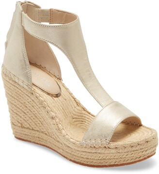 Kenneth Cole New York Olivia T-Strap Wedge Sandal