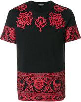Alexander McQueen Engin Skull T-shirt - men - Cotton - XS
