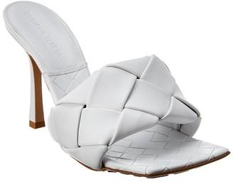 Bottega Veneta The Lido Intrecciato Leather Sandal