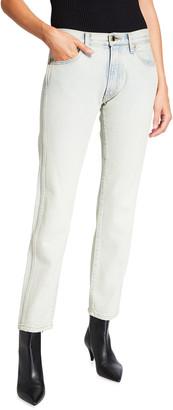 KHAITE Kyle Low-Waist Denim Jeans