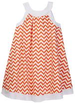 Toobydoo Valentina Chevron Piazza Dress (Toddler, Little Girls, & Big Girls)