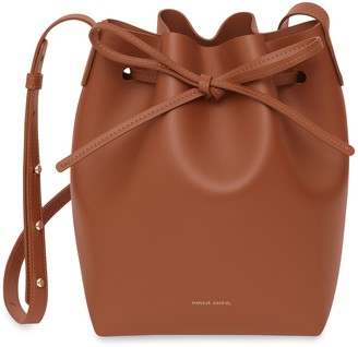 Mansur Gavriel Mini Bucket Bag - Ginger