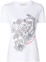 Etro paisley print T-shirt - women - Cotton - 38