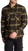 Quiksilver Long Sleeve Plaid Regular Fit Shirt